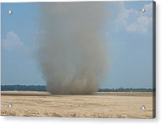 Mississippi Dust Devil Acrylic Print