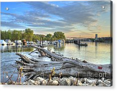 Mississippi Harbor 2 Acrylic Print by Jimmy Ostgard