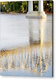 Mississippi Reflection Acrylic Print