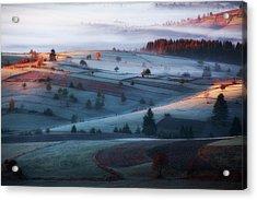 Mist Acrylic Print by Amir Bajrich