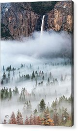 Mist Falls Acrylic Print