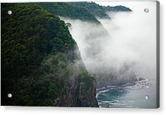 Mist Over Kitayamazaki Acrylic Print