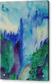 Mist Acrylic Print by Phoenix Simpson