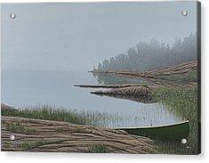 Mistified Acrylic Print by Kenneth M  Kirsch