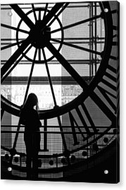 Mistress Of Time Lost Acrylic Print by Wesley S Abney