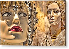 Mistrust Acrylic Print by Chuck Staley