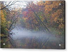 Mists Of Time Acrylic Print by Bill Cannon