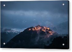 Misty Acrylic Print by Art Lionse