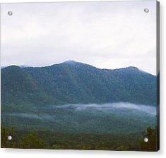 Misty Acrylic Print by Cynthia Syracuse