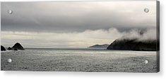 Misty Day On The Blasket Islands Acrylic Print by Barbara Walsh