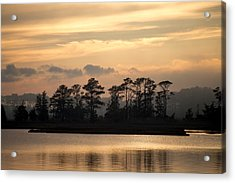 Misty Island Of Assawoman Bay Acrylic Print