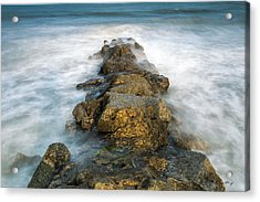 Misty Moment Acrylic Print by Bill Cantey