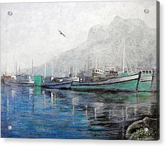 Misty Morning In Hout Bay Acrylic Print by Michael Durst
