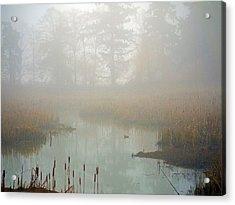 Acrylic Print featuring the photograph Misty Morning by Jordan Blackstone