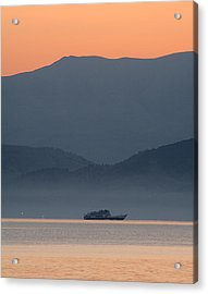 Misty Ride Acrylic Print by Viacheslav Savitskiy