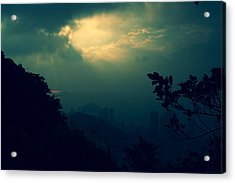 Acrylic Print featuring the photograph Misty Sunlight by Afrison Ma
