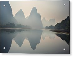 Misty Sunrise 1 Acrylic Print