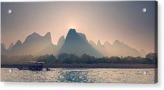 Misty Sunrise 5 Acrylic Print