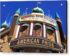 Mitchell Corn Palace - 01 Acrylic Print by Gregory Dyer