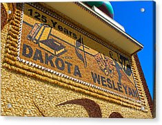 Mitchell Corn Palace - 04 Acrylic Print by Gregory Dyer