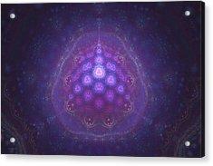 Mitochondria Arrive Acrylic Print by Justin Sanchez