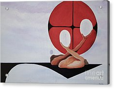 Mitosis Of Love Acrylic Print by Stuart Engel