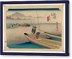 Mitsuke, Ando Between 1833 And 1836, Printed Later Acrylic Print