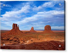 Mittens Afternoon Acrylic Print by Darren  White