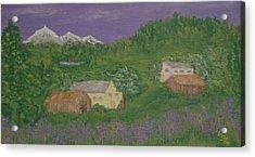 Mittersill  Austria Acrylic Print