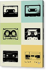 Mix Tape Poster Acrylic Print