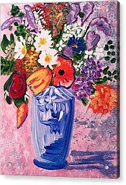 Mixed Floral   Acrylic Print