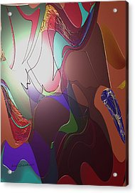 Mixup Abstract 14 Acrylic Print