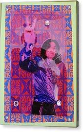Mj Peace Acrylic Print