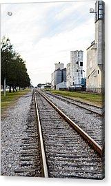 Mkt Rail Acrylic Print
