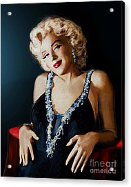 Mm 126 Blue Acrylic Print