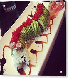 Mmm Sushi Caterpillar! I Even Ate The Acrylic Print