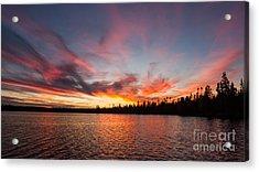 Mn Sunset Symphony Acrylic Print