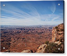 Moab  Acrylic Print by Cathy Anderson