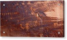 Moab Petroglyph Acrylic Print