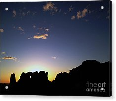 Acrylic Print featuring the photograph Moab Sunset by Kate Avery