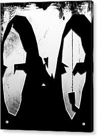 Moans Of Lisa  Acrylic Print by Jerry Cordeiro