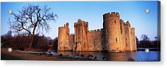Moat Around A Castle, Bodiam Castle Acrylic Print by Panoramic Images