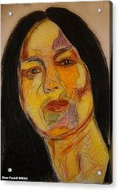 Mobenilu Acrylic Print by Shan Peck