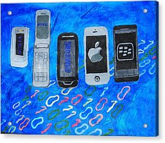 Mobile Evolution Acrylic Print by Melissa Nowacki