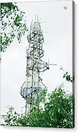 Mobile Phone Mast Acrylic Print