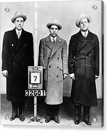 Mobsters, 1940 Acrylic Print by Granger