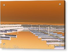 Mocha Dock Acrylic Print
