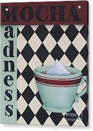 Mocha Madness Acrylic Print by Catherine Holman