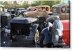 Model A With Trailor Acrylic Print by Connie Mueller