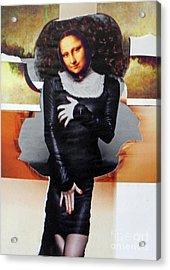 Model Mona Acrylic Print